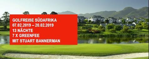 Golfreise Südafrika 2019